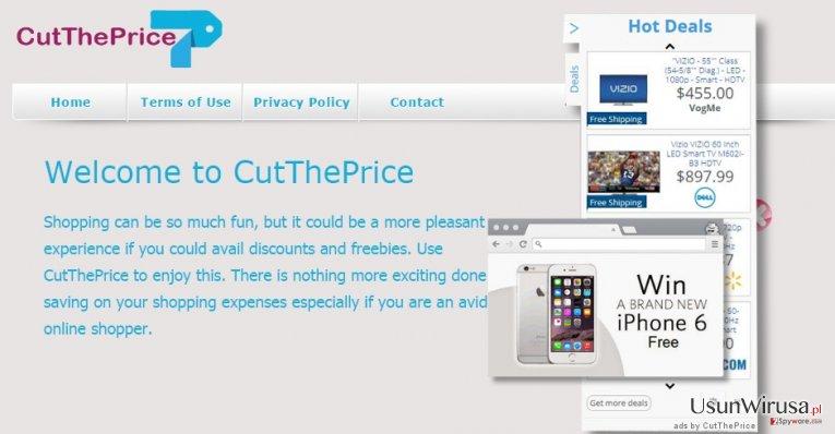 Reklamy CutThePrice snapshot