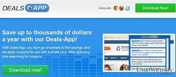 Reklamy Deals App snapshot