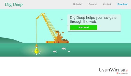 reklamy Dig Deep