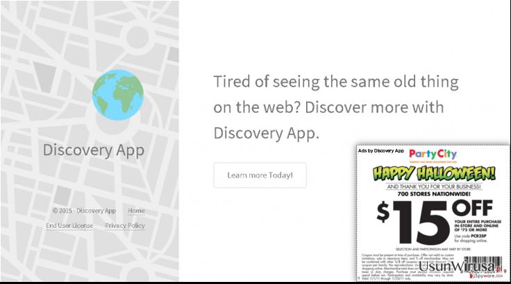 Reklamy Discovery App snapshot