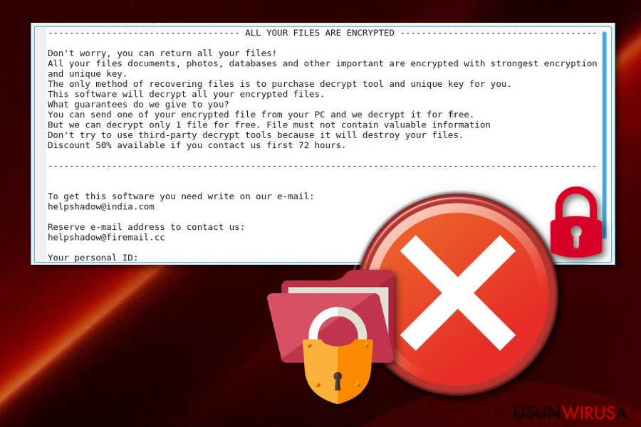 Wirus ransomware Djvu