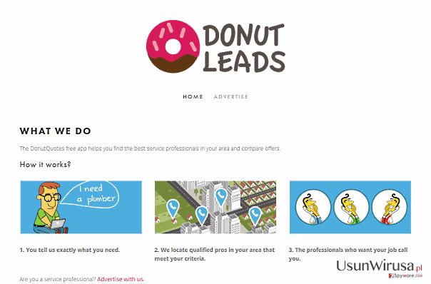 Reklamy DonutQuotes snapshot