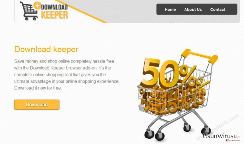 Reklamy Download Keeper snapshot