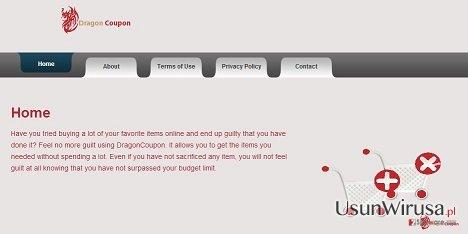 Wirus DragonCoupon snapshot