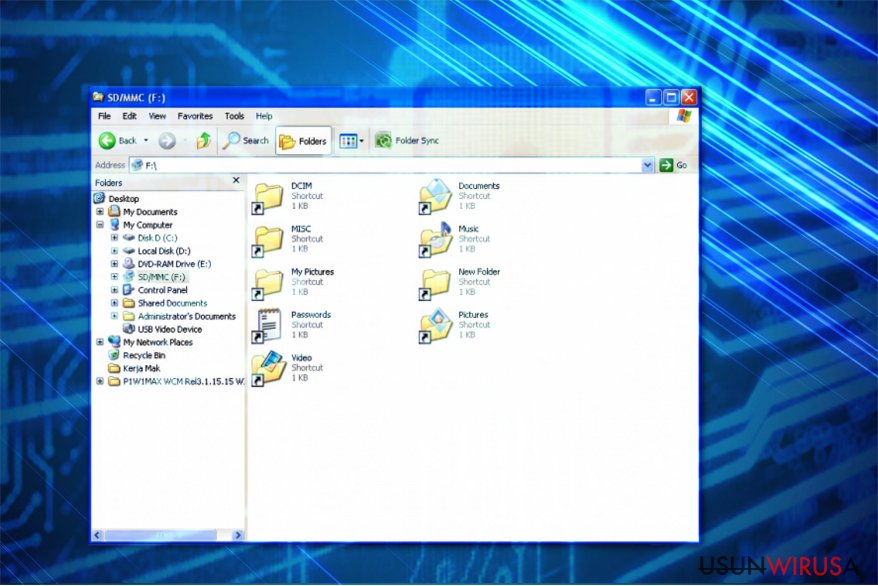 Drive.bat trojan targets USB devices