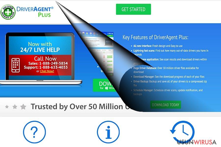 Przykład DriverAgenta Plus