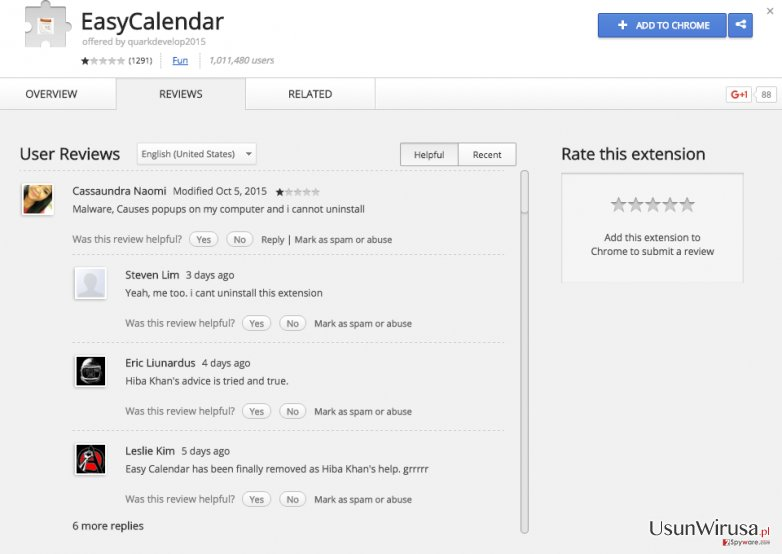 Reklamy EasyCalendar ads snapshot
