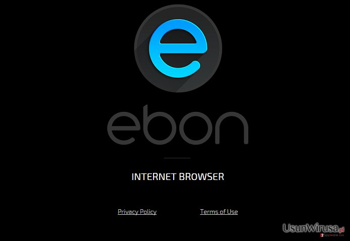 Ebon Browser virus