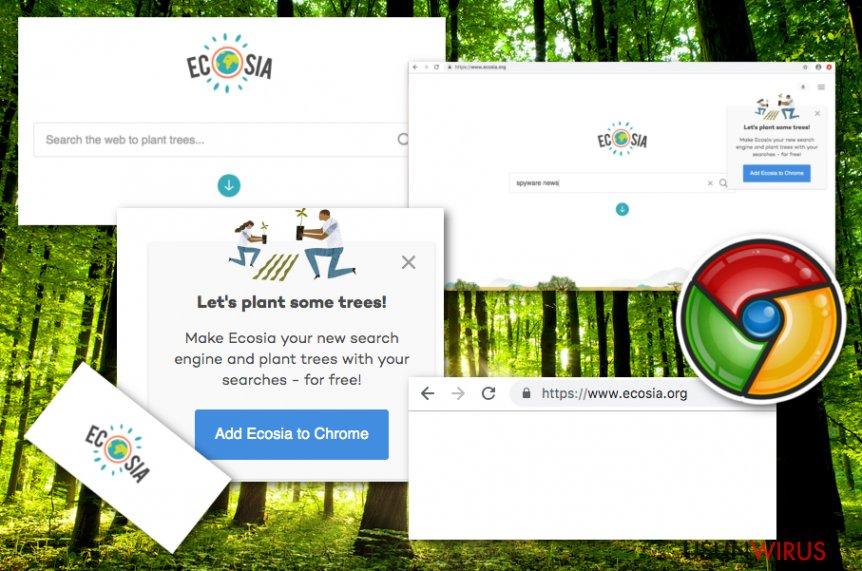 Wirus Ecosia.org snapshot