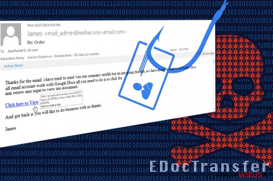 Oszustwo EdocTransfer