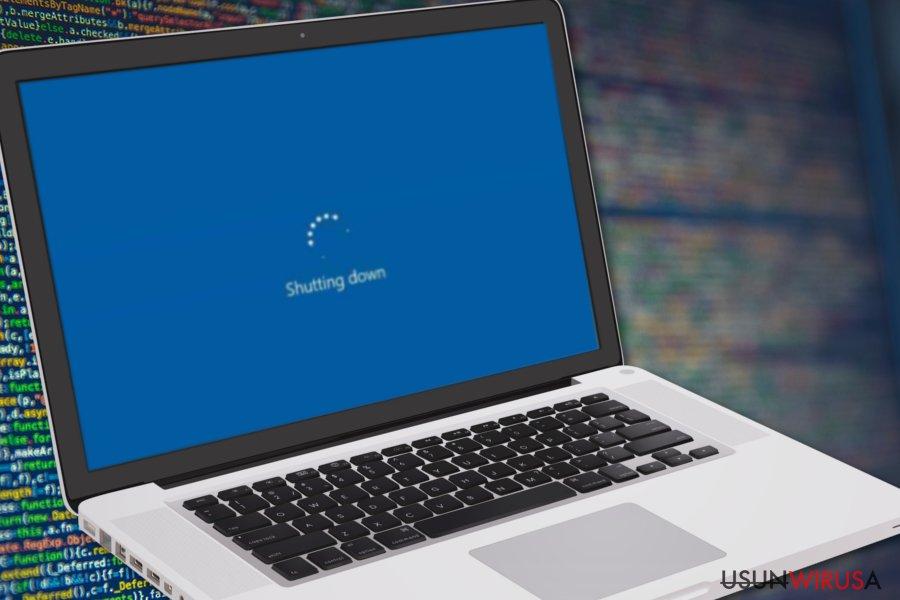 Elara zapobiega wyłączaniu komputera