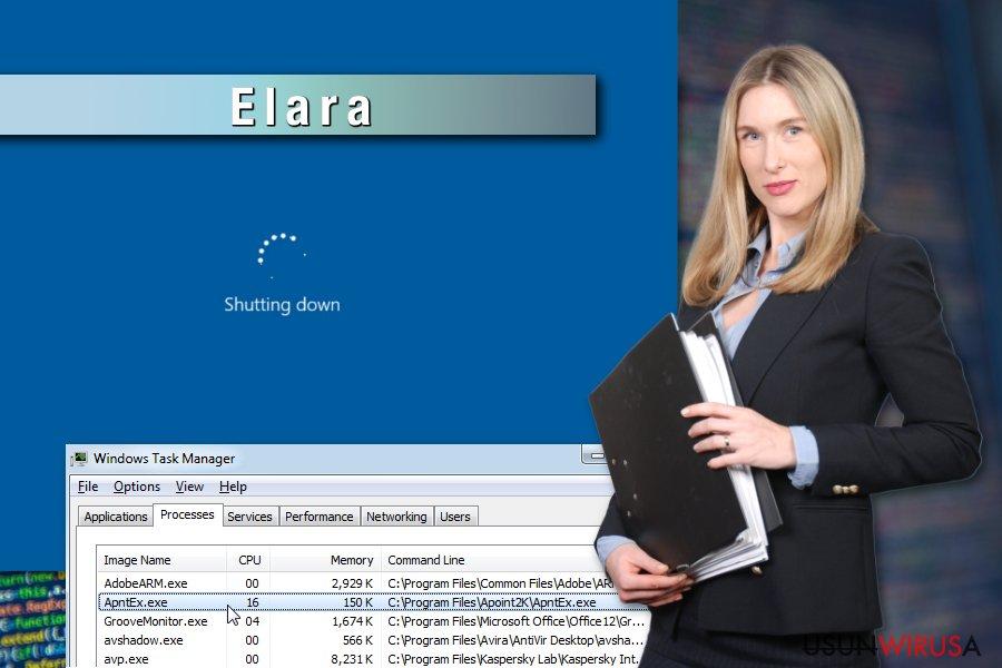 Przykład wirusa Elara