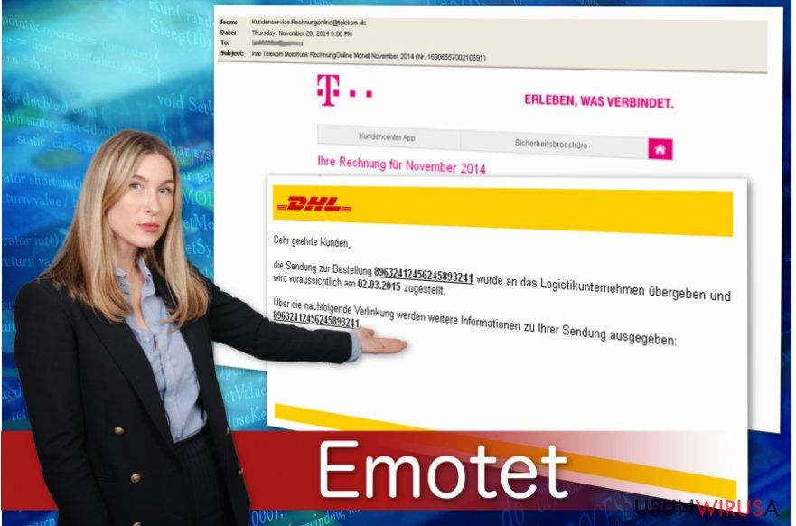 Trojan bankowy Emotet rozpowszechnia się przez fałszywe faktury.