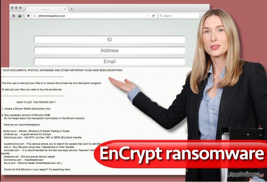 Wirus ransomware EnCrypt