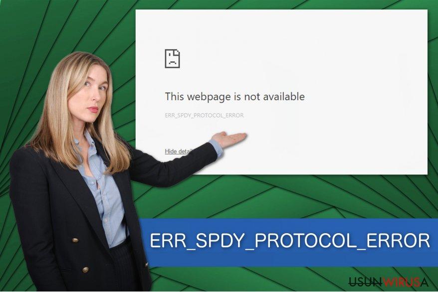 Przedstawienie błędu ERR_SPDY_PROTOCOL_ERROR