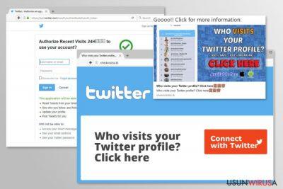 Twitter virus