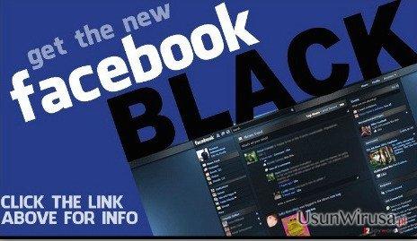 Facebook Change Color virus snapshot