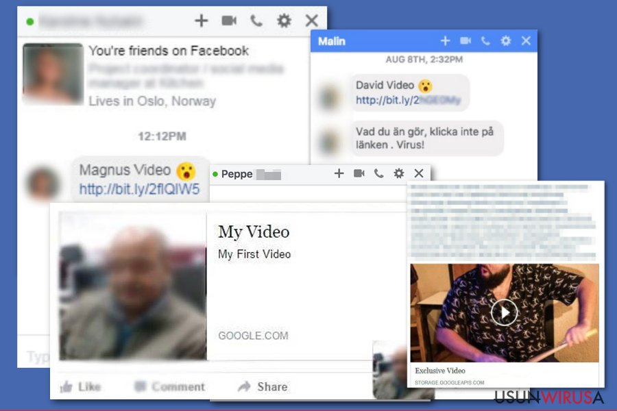 Wirus Facebook