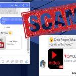 Wirus wiadomości Facebooka snapshot