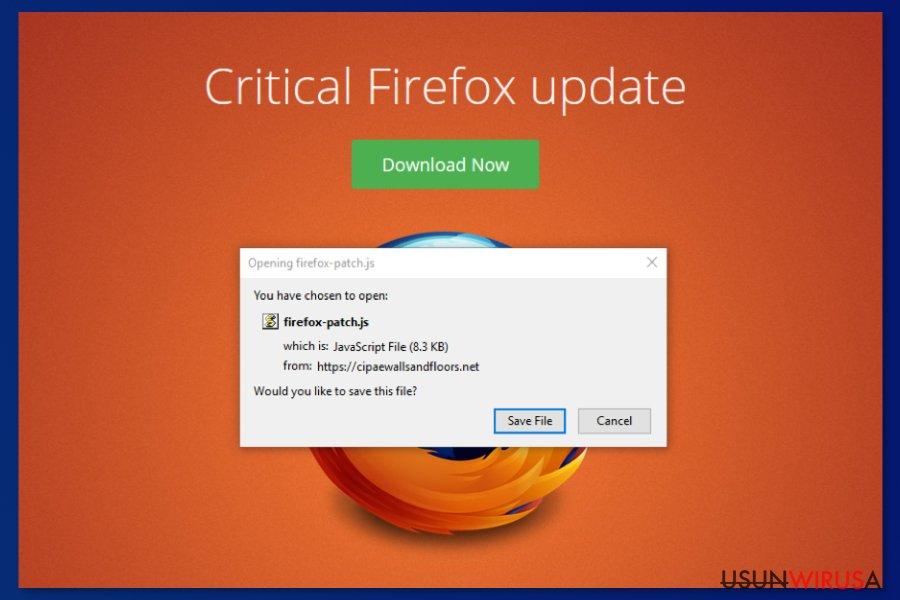 Krytyczna Aktualizacja Firefox