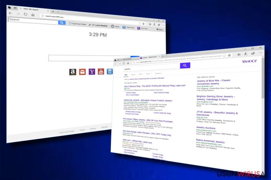 Porywacz przeglądarki Fast Forms Finder