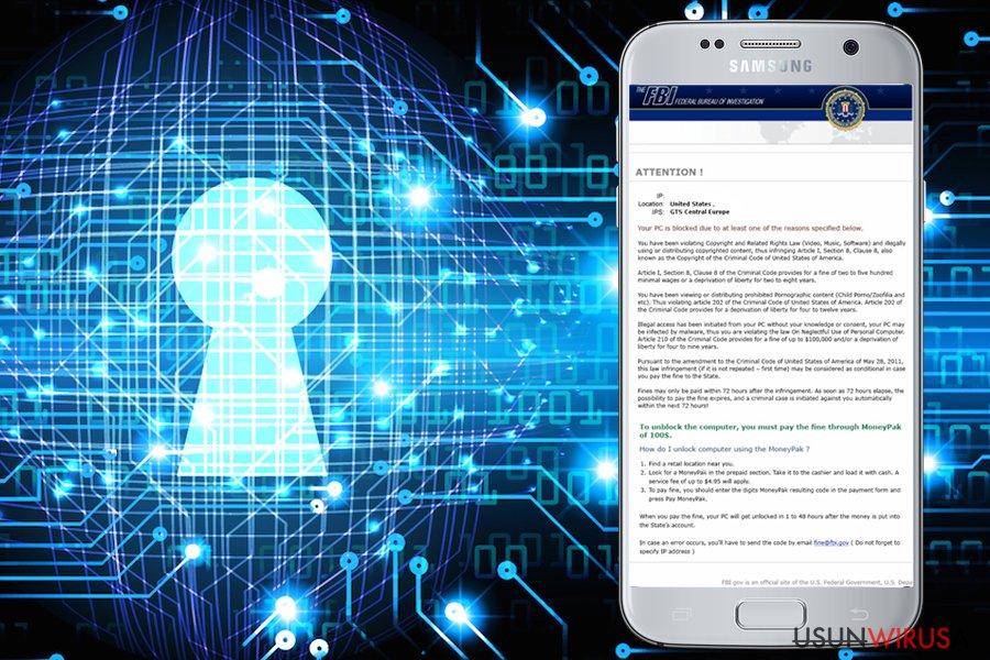FBI Green Dot Moneypak Virus snapshot