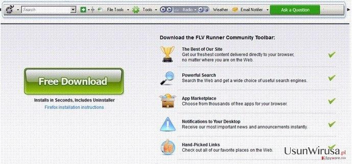 Flv Toolbar snapshot