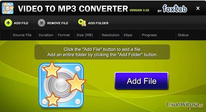 FoxTab Video Converter snapshot