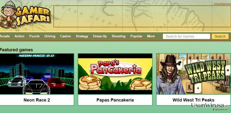 Reklamy GamerSafari snapshot