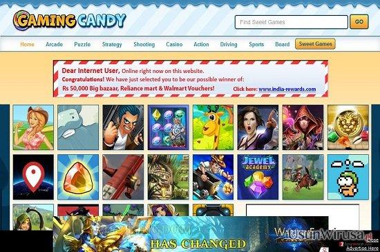 Reklamy od GamingCandy snapshot