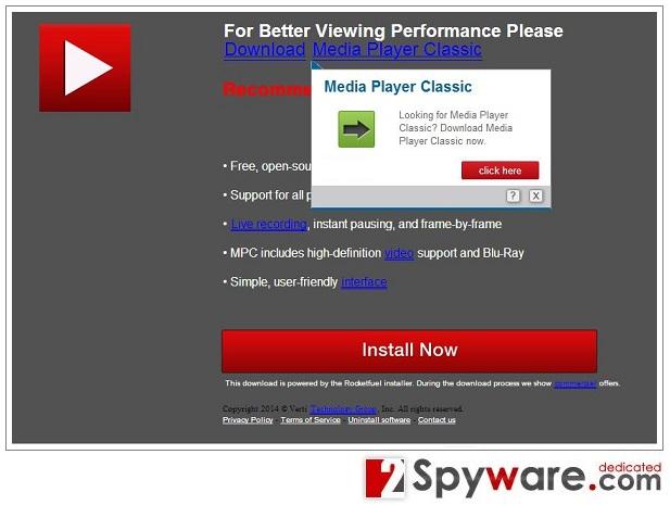 Reklamy pop-up Glp.jssection.net snapshot