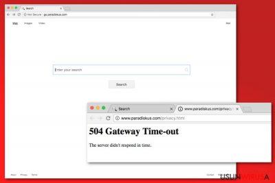 Przykład wirusa Go.paradiskus.com