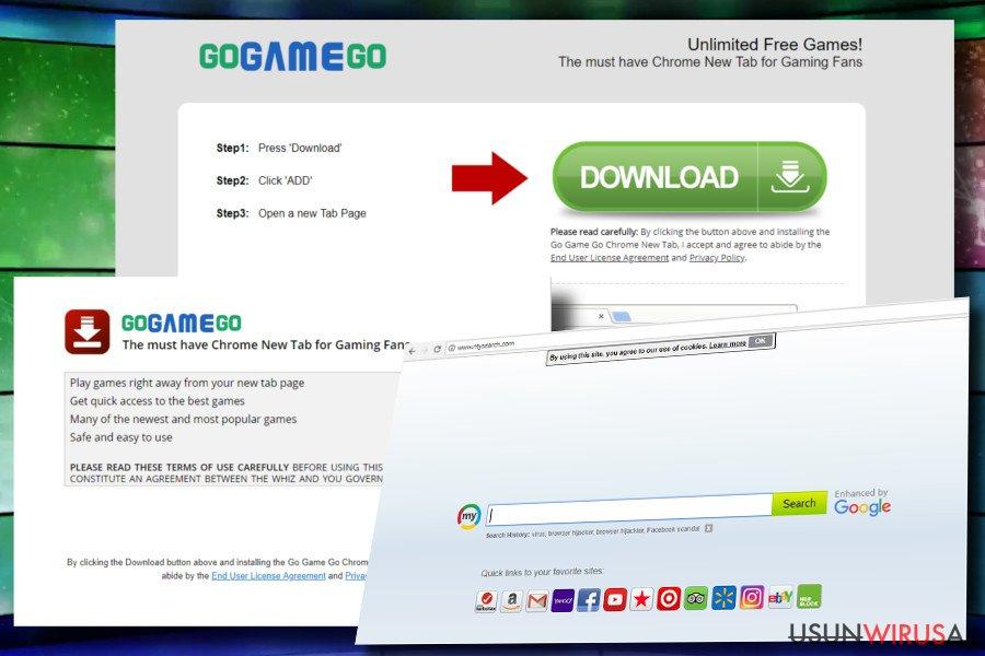 Pasek narzędzi GoGameGo atakuje Chrome'a