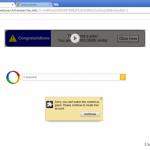 Google redirect snapshot