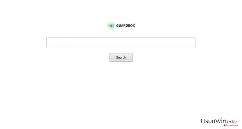 Przekierowania Guard-search.com snapshot