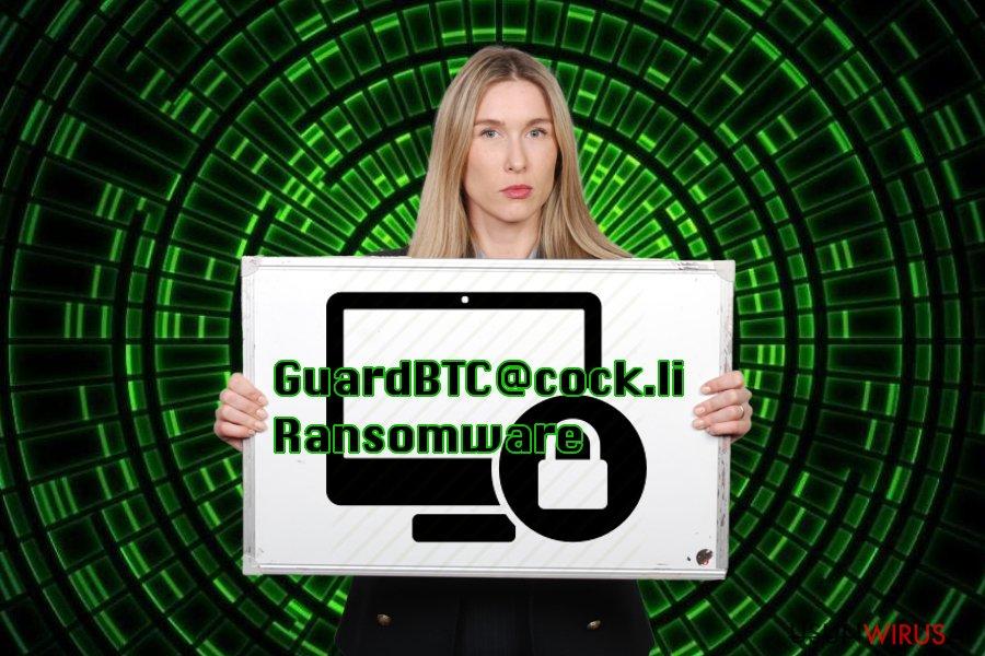 Przedstawienie wirusa GuardBTC@cock.li