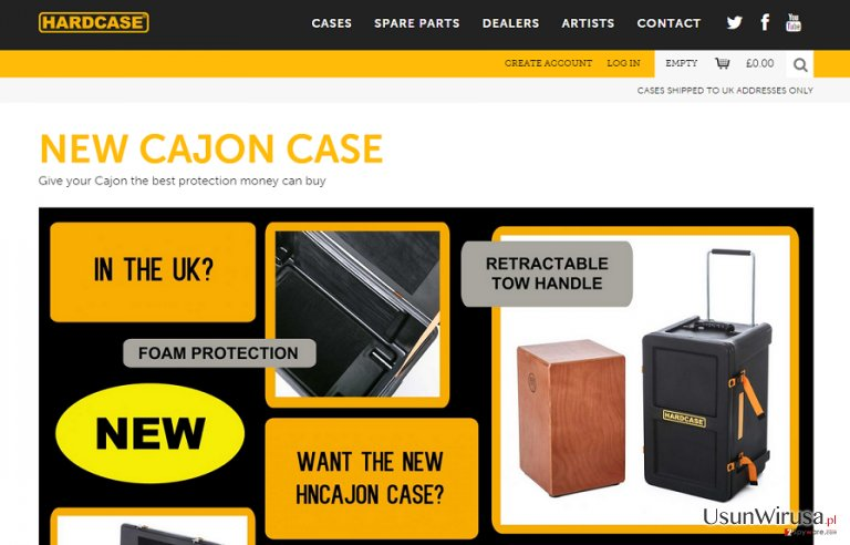 Reklamy Hard Case snapshot