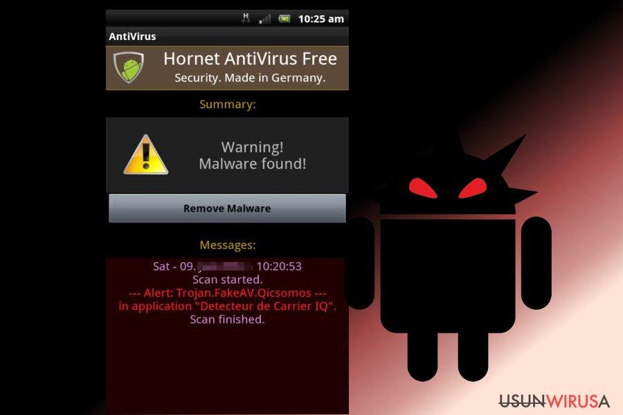 Wirus Android snapshot