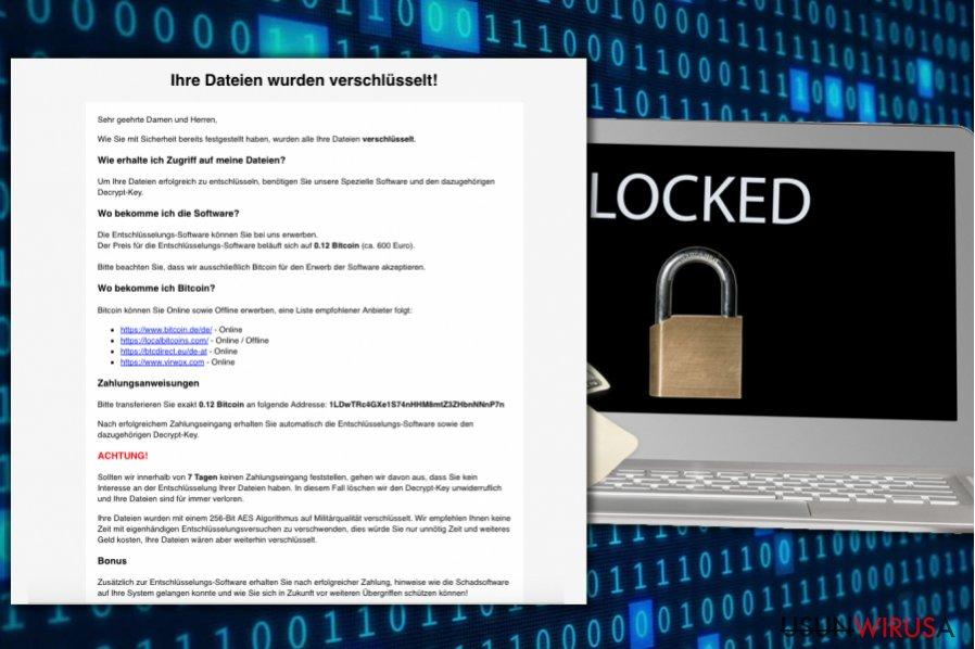 Atak ransomware HSDFSDCrypt