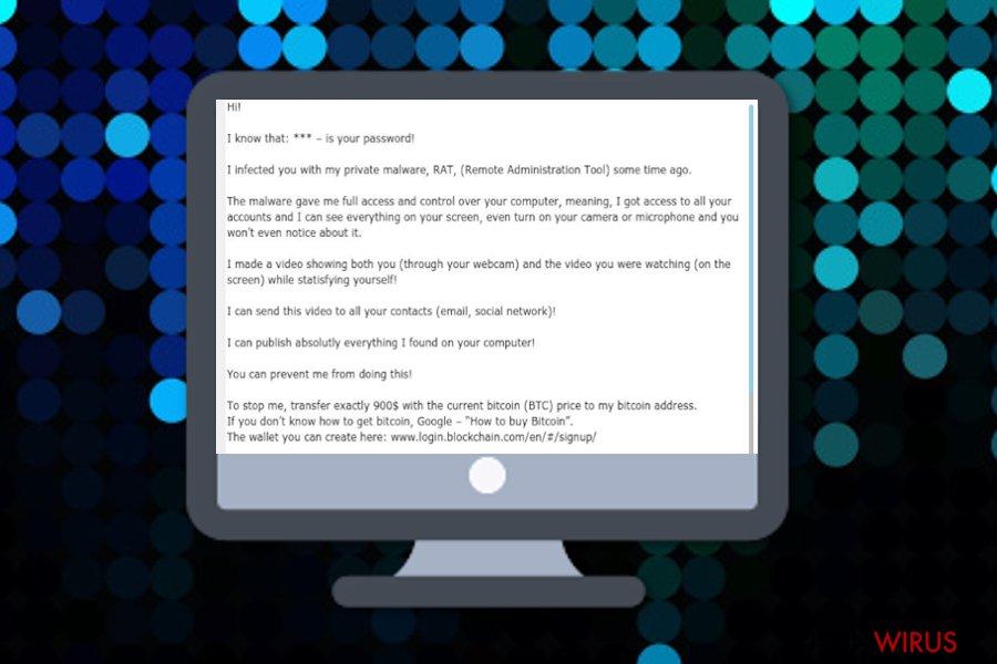 E-mail Remote Administration Tool (RAT) - narzędzie administracji zdalnej