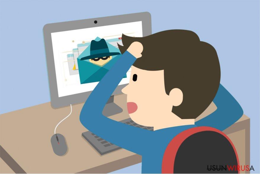 Ilustracja wirusa Idle Buddy