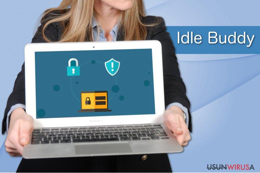 Przykład wirusa Idle Buddy