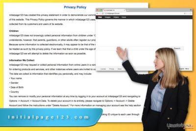 Wirus Initialpage123.com