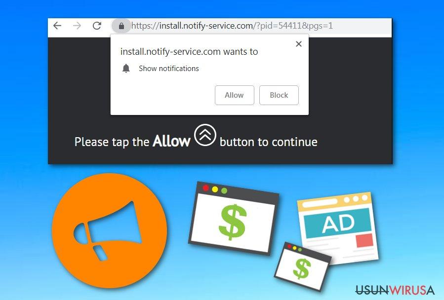 Adware Install.notify-service.com