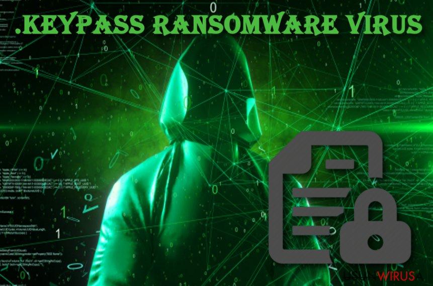Wirus ransomware .Keypass