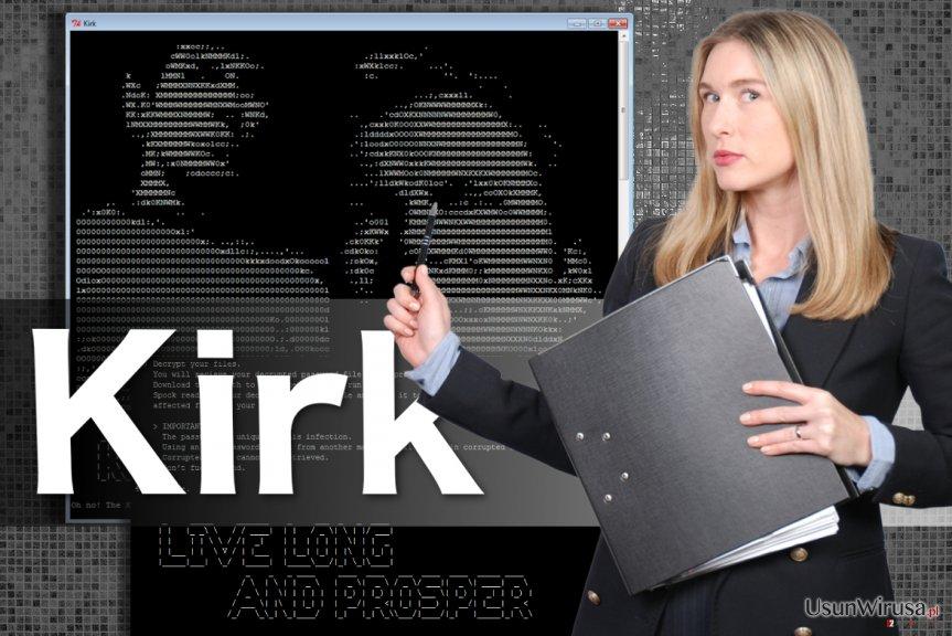 wirus ransomware Kirk
