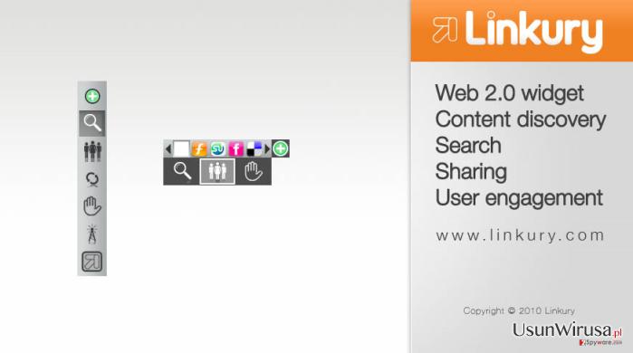 Linkury SmartBar snapshot