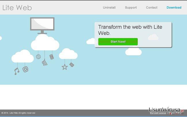 Reklamy Lite Web snapshot