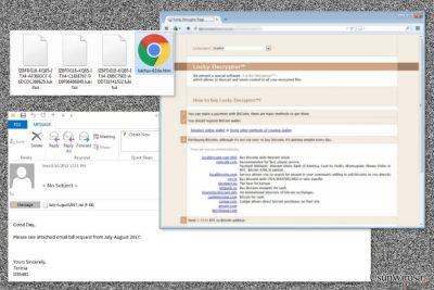 Przedstawienie wirusa ransomware Lukitus