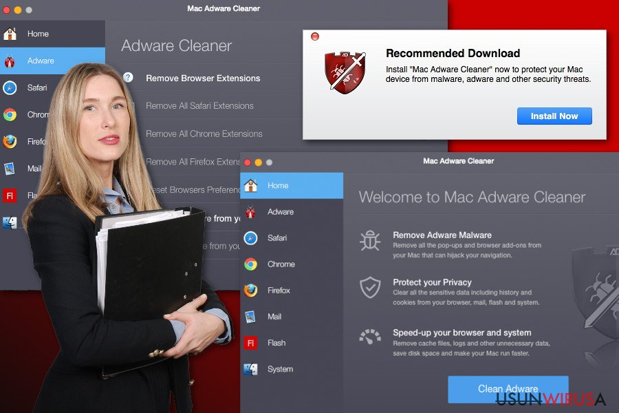 Reklamy Mac Adware Cleaner